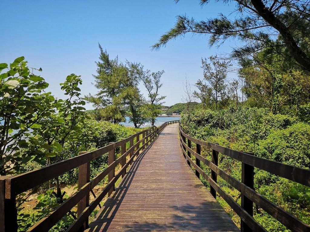 【台湾|麟山鼻木桟道】白沙湾のすぐ側にあるロマンチックな絶景の遊歩道【行き方・感想】
