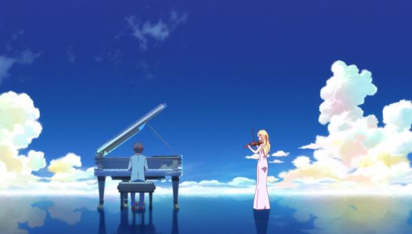 【漫画・アニメ】『四月は君の嘘』の感想!クラシックの名曲『愛の悲しみ』、『バラード1番』に思いを乗せて。